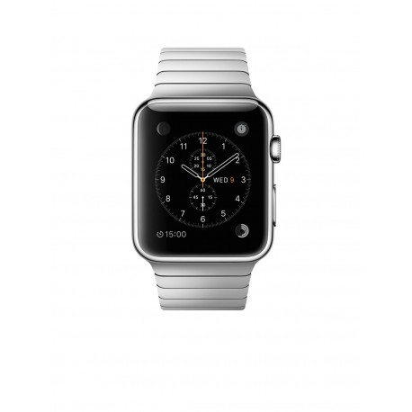 42mm Stainless Steel Case with Link Bracelet