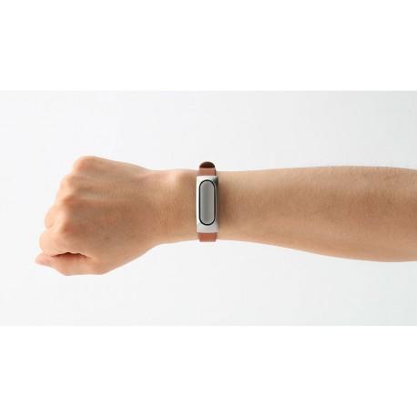 بند چرمی اورجینال دستبند سلامتی Mi band